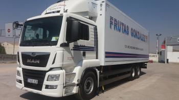 Camion Frutas Gonzalez